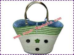 Machine order straw bag