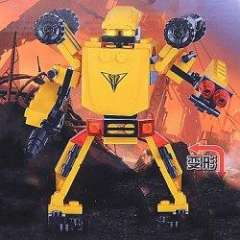 NO.81501 Plastic Building Blocks Bumblebee Warrior Educational Funny Toy for Children