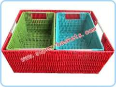 Hand knotted basket