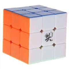 Wonderful DaYan 3x3x3 Rotating Magic Cube (Colorful)