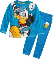 Baby Long Sleeve Cute Cartoon Donald Duck Cotton Pajamas #XC-154\ Wholesale & Retail \ Free Shipping