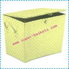 With a lid savings basket