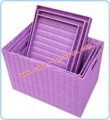 Buckle cover basket