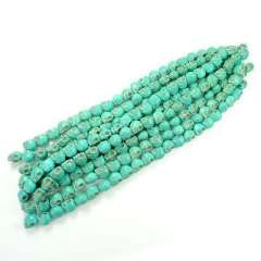 Blue Kito 20 mm | handmade DIY | Gemstone beaded semi-finished products