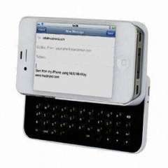 Slide-out Bluetooth Keyboard for iPhone 4\4S