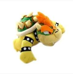 Super Mario Bros 10' Bowser King Koopa Plush Doll Toy New with Tag New
