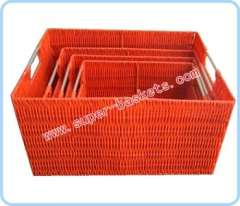 Set of four receive basket
