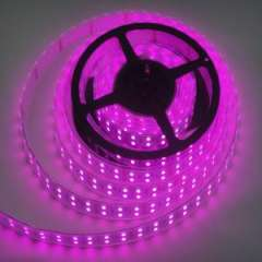 Waterproof Light Strip LED Pink Double Row LED Strip 12V 5m 5050 Flexible LED Strip
