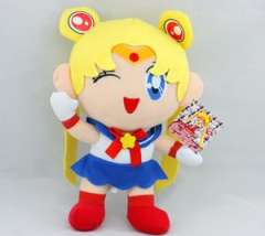 JAPANESE ANIME PRETTY SOLDIER SAILOR MOON PLUSH DOLL 12'NEW