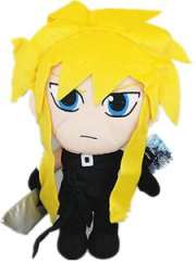 Final Fantasy VII Plush Toy Cloud Strife 13' New