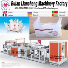 Plastic bag making machine and bags manufacturing machines
