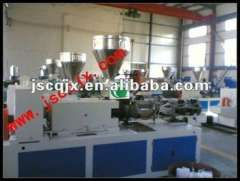 SJSZ 92 Conical Twin Screw Extruder for Plastic Power and Pellet