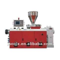 CE CERTIFICATE SJSZ 55 twin screw extruder for plastic with competitive price