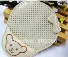PU leather hand rest mouse pad