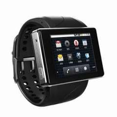 Smart watch phone, Android 4.0, 4GB ROM, 200W camera, Wi-Fi, BT 4.0, APP store