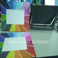 UV offset printing customer logo picture insert mouse mat