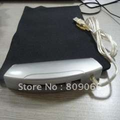 Mouse pad Factory----heat transfering Fabric 4 usb hubs mouse pad with rubber material on bottom