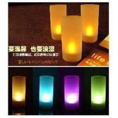 Full House voice-activated candles lights | Random colors