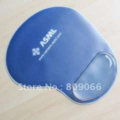 PVC liquid Gel computer mouse pad, promotion gifts cutomized liquid wrist rest mouse mat, Aqua oil hand rest mouse pad