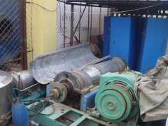 Used horizontal spiral centrifuge discharge settlement