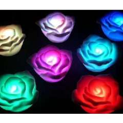 Colorful Romantic Rose lights