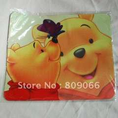 cartoon Cloth Natural Rubber promotion laptop roll up mouse pad with heat transfering logo