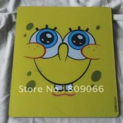 PVC+Natural Rubber promotion customized computer mouse pad with full color offset printing logo