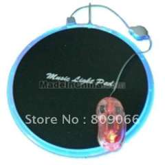 Mouse pad Factory --- multi-media LED USB hubs mouse pad with card reader