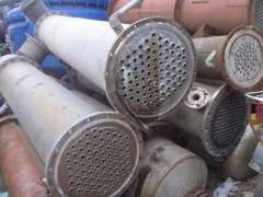 Used Used stainless steel condenser condenser condenser used chemical equipment used