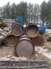 Used Used 400-1200 stainless steel distillation column used alcohol distillation column used chemical tower located