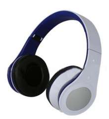 Super Bass Sound Headphone Silvery Headset