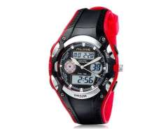 AK9132 50 m Waterproof Analog & Digital Display Sports Diving Watch (Red) M.