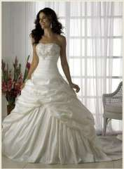 2013 wedding high waist embroidery bride dress Free Shipping