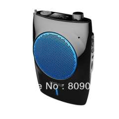 A820 Portable Waistband Amplifier, Supports LCD Display\USB\TF Card Playback and Recording Function