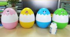 Creative bright egg lamp / egg-shaped night light / LED Rechargeable Lamps | Color Random