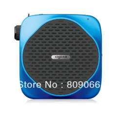 A826 Portable Voice Amplifier, Supports LCD\USB\TF Card Playback and Recording Functions