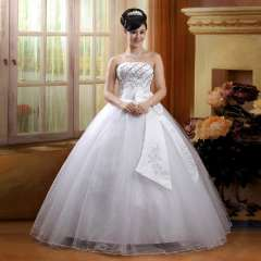 2013 princess tube top big strap wedding dress 82620