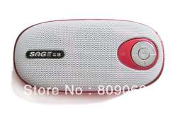 S13 Fashionable outdoor Portable Speakers, Support USB, T-flash Card and FM Radio