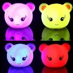 AirLand bear lamp into the colorful story songs dream slideshow | Small spirit | Random colors