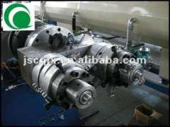 pvc double pipe machine