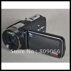 Attractive Design- black 12MP multi-function 3.0' TFT LCD screen sigital Video Camera HD support Flash Memory card 2-32G