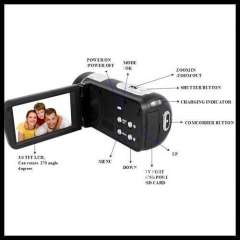 2012 NEW Design- high resoluation New Digital Video Camera 3.0' TFT LCD screen Camcorder with HDMI output HDV530A