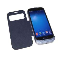 Battery External for Samsung S4 CE FCC RoHS MSDS Certified with Solid Kickstand and Auto Sleep Funtion