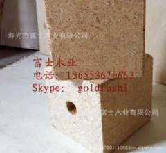 Poplar Particleboard blocks, easily splitting wood moisture pier