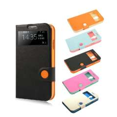 Flip PU Leather Case for Samsung Galaxy Mini I9190