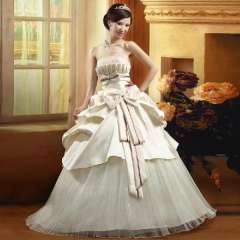 The bride wedding dress formal dress new arrival 2013 tube top satin wedding qi 82209