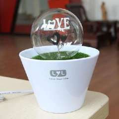 LYL Patent Fireworks Night Light | Double Heart LOVE