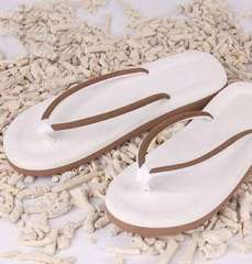Simple men and women sandals | slippers couple | beach drag | brown | 43码