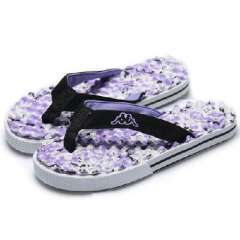 Female models camouflage slippers | massage slippers | purple | 39码