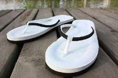 Simple men and women sandals | slippers couple | beach trailer - Women | Black | 39码